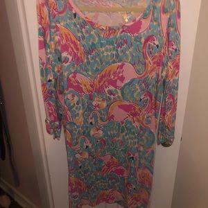 Super Cute Lily Pulitzer T shirt Dress XL